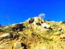 Piek van de berg royalty-vrije stock foto's