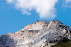 Piek van Dobratsch - Oostenrijkse Alpen Royalty-vrije Stock Afbeelding