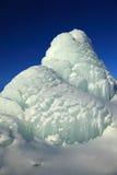 Piek van gletsjer Stock Foto