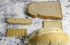 Piekarni foods Zdjęcie Stock