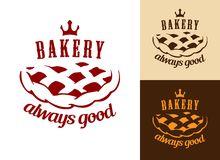 Piekarni jedzenia symbol Zdjęcia Stock
