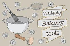Piekarni narzędzia Obrazy Royalty Free