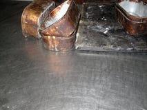 Piekarnia chleba cyny Zdjęcie Royalty Free