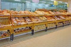 Piekarnia i chleba sklep Fotografia Stock