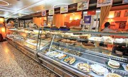 Piekarnia w Barcelona Zdjęcie Stock