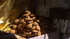 Piekarnia w na wolnym powietrzu między alejami Medina Zdjęcia Royalty Free