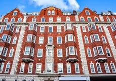 Piekarniana uliczna architektura, Londyn, UK fotografia stock