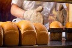 Piekarniany kulinarny chleb fotografia stock