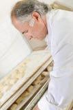 Piekarnianych narządzanie tac chlebowe rolki Obraz Stock