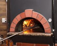 piekarnik pizza Fotografia Royalty Free