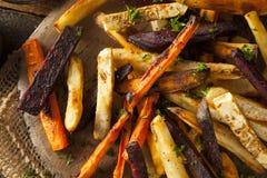 Piekarniki Piec warzywo dłoniaki zdjęcia stock