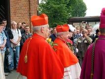 PIEKARY SL, POLEN - MAJ 25: pilgrimsfärd för män Arkivbilder