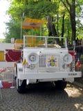 PIEKARY SLASKIE,波兰- 5月26 :重建,波兰pappamo 图库摄影