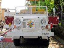PIEKARY SLASKIE,波兰- 5月26 :重建,波兰pappamo 免版税库存图片
