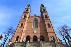 Piekary Slaskie basilica Stock Image