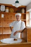 Piekarz przy Blists wzgórza wiktoriański muzeum Zdjęcia Royalty Free