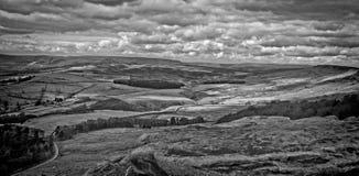Piekdistricts Nationaal Park Engeland Royalty-vrije Stock Fotografie