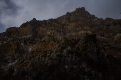 Pieken langs de sleep van de rotscanion in Provo, Utah stock afbeeldingen