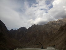 Pieken van Himalayan Stock Fotografie