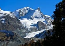 Pieken van Zermatt, Valais, Zwitserland stock afbeelding