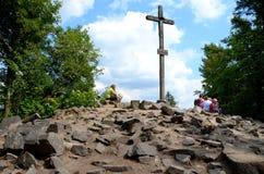 Pieklysica (Heilige Dwarsbergen) Stock Afbeeldingen