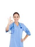 Kobiety lekarka, pielęgniarka fotografia royalty free