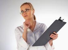pielęgniarki główkowanie Fotografia Stock