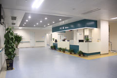 Pielęgniarki stacjonują w szpitalu Zdjęcie Royalty Free