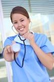 pielęgniarki szpitalnej kobieta fotografia stock