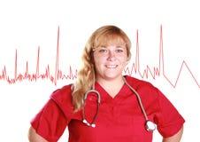 pielęgniarki uśmiecha się obraz royalty free