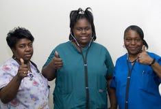 pielęgniarki zespołu Obraz Royalty Free