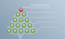 Piel-árbol de Techno Foto de archivo