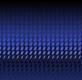 Piel azul del reptil ilustración del vector