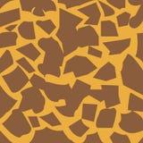 Piel de la jirafa Foto de archivo libre de regalías
