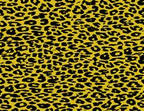 Piel de la piel de la impresión del leopardo Imagenes de archivo
