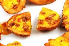 Piel de patata Imagen de archivo libre de regalías