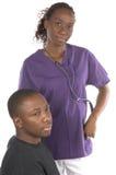 pielęgniarka pacjent Zdjęcie Royalty Free