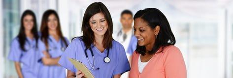 Pielęgniarka w szpitalu Obrazy Royalty Free