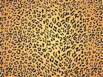 Piel inconsútil del modelo de la piel del leopardo