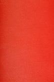 Piel manufacturada roja Fotos de archivo