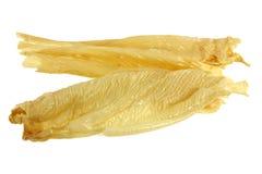 Piel secada del queso de soja (paño del queso de soja, Yuba, Beancurd) Foto de archivo libre de regalías