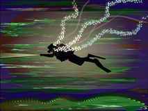 Piel-zambullidor Fotografía de archivo