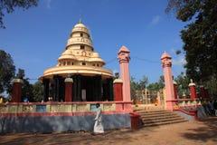 Pielgrzymi odwiedzają grobowa Sree Narayana Guru Obraz Royalty Free