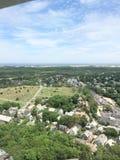 Pielgrzymi zabytek: Gubernialny miasteczko, MA Fotografia Stock