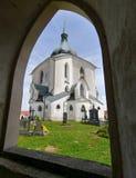 Pielgrzymka kościół Obrazy Stock