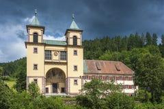 Pielgrzymka kościelny Mater Dolorosa w Złym Rippoldsau-Schapbach Zdjęcia Royalty Free