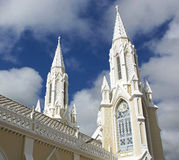 Pielgrzymka Kościelny Santuario De Los angeles Virgen, Isla Margarita Fotografia Stock