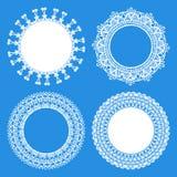 Pielucha projekta eleganccy elementy ilustracja wektor