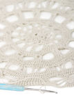 pieluchy crochet odosobniona pielucha Obrazy Royalty Free