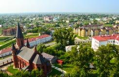 Piemont-Bezirk von Tobolsk Seitenansicht des Tobolsk Krem Stockfotografie